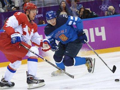 Сборная Финляндии одерживает уверенную победу в 1/4 финала со счётом 3:1
