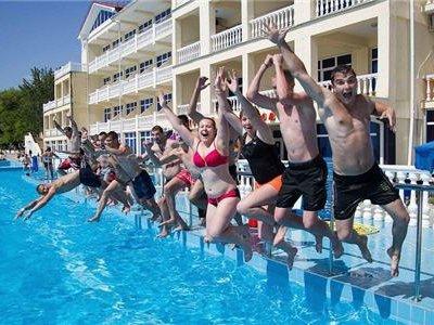 31 августа сдача норм ГТО среди «выздоравливающей молодёжи»