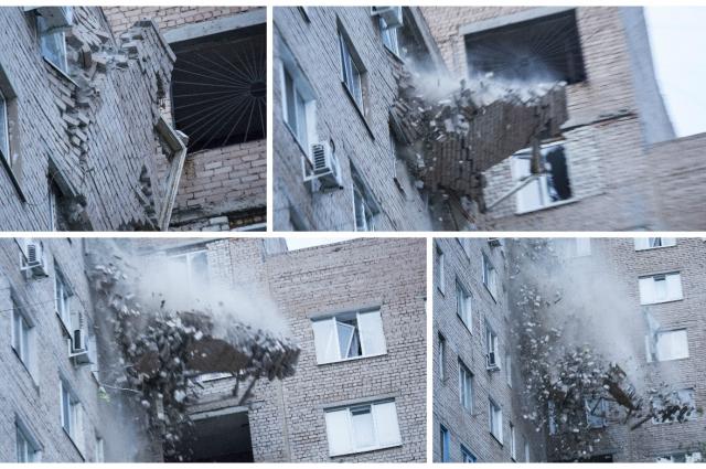 В Оренбурге произошел взрыв бытового газа в жилом доме