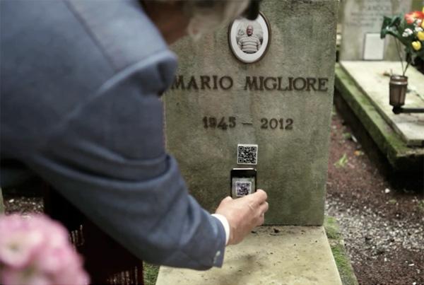 Элитное надгробие - высокие технологии на кладбище