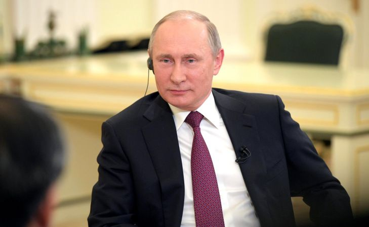 Путин: Россия выступает за нормализацию отношений с Японией