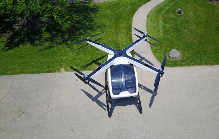 Workhorse анонсировал вертолёт с гибридной силовой установкой