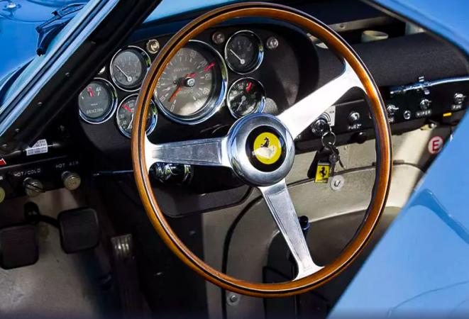Ferrari GTO 1963 года выпуска признали самым дорогим авто в мире