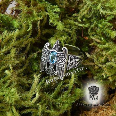 Славянские кольца и перстни с тотемными животными